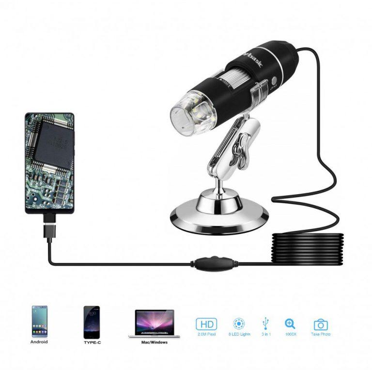 لوپ و میکروسکوپ دیجیتال USB 1000X