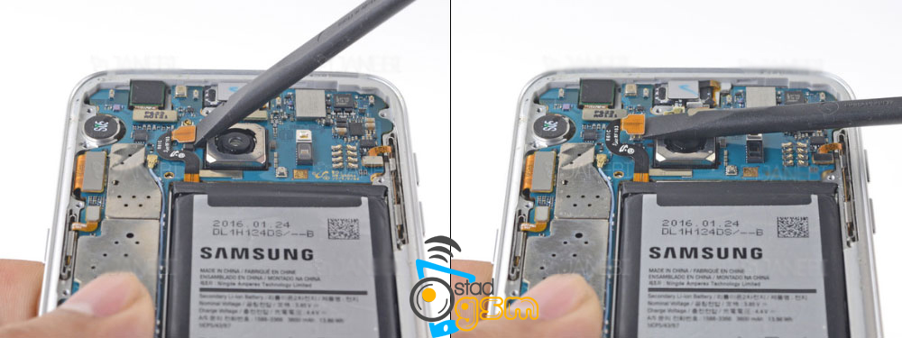 تعمیر دوربین سامسونگ S7