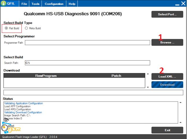آموزش فلش فایل های XML با نرم افزار QPST
